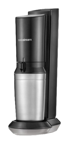 SodaStream Crystal 2.0 Silber, Titan Kohlensäureerzeuger (Silber, Titan)