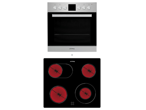 Privileg SET PV520 IN Elektrischer Ofen Kochgeräte-Set