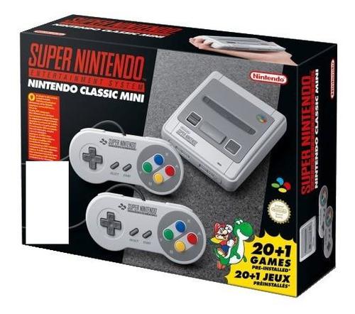 Nintendo Classic Mini: Super Entertainment System Grau (Grau)