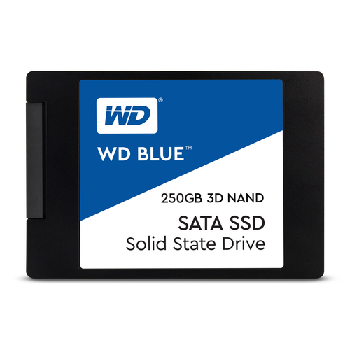 """Western Digital Blue 3D NAND SATA SSD 250GB 250GB 2.5"""" Serial ATA III (Schwarz)"""