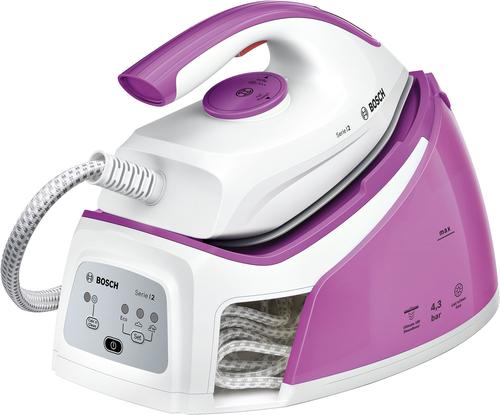 Bosch Serie 2 TDS2110 2400W 1.5l Pink, Weiß Dampfbügelstation (Pink, Weiß)