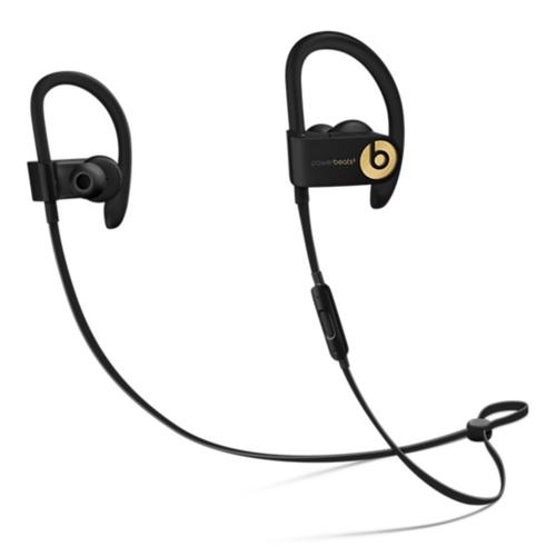 Apple Powerbeats3 Ohrbügel, im Ohr Binaural Kabellos Schwarz Mobiles Headset (Schwarz, Gold)