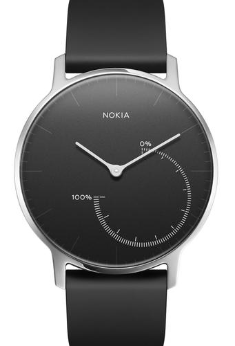Nokia Steel 36 Wristband activity tracker Kabellos Schwarz (Schwarz)