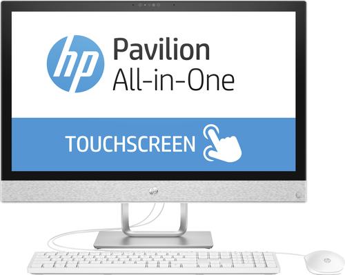 HP Pavilion 24-r061ng 2.9GHz i7-7700T Intel® Core™ i7 der siebten Generation 23.8Zoll 1920 x 1080Pixel Touchscreen Weiß All-in-One-PC (Weiß)