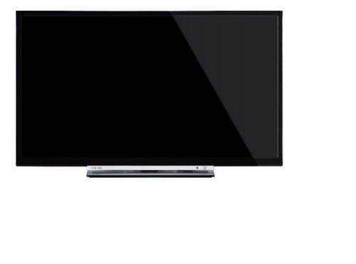 Toshiba 43L3763DA 43Zoll Full HD Smart-TV WLAN Schwarz LED-Fernseher (Schwarz)