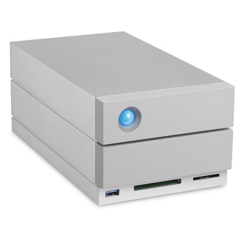 LaCie 2big Dock Thunderbolt 3 8000GB Desktop Grau Disk-Array (Grau)