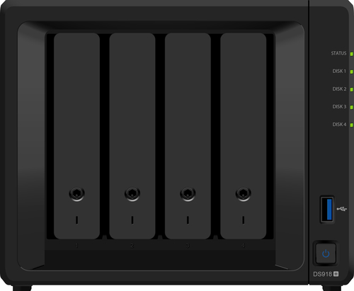 Synology DS918+ NAS & Speicherserver