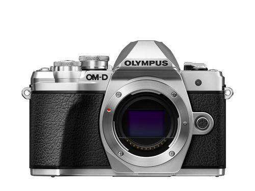 Olympus OM-D E-M10 Mark III MILC Body 16.1MP 4/3Zoll Live MOS 4608 x 3456Pixel Schwarz, Silber (Schwarz, Silber)