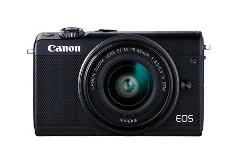 Canon EOS M100 Kompaktkamera 24.2MP CMOS 6000 x 4000Pixel Schwarz (Schwarz)