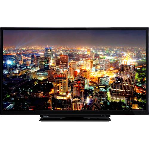 Toshiba 24D1763DA 24Zoll HD Schwarz LED-Fernseher (Schwarz)