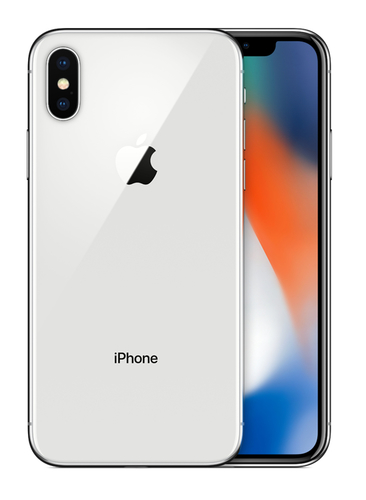 Apple iPhone X Single SIM 4G 64GB Silber (Silber)