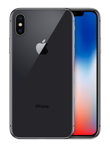 Apple iPhone X Single SIM 4G 64GB Grau (Grau)