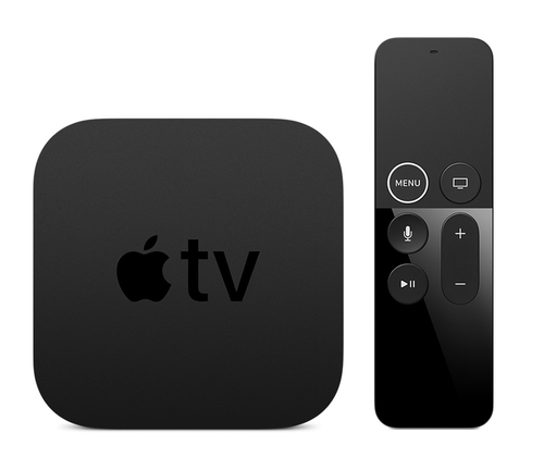 Apple TV 4K Smart-TV-Box (Schwarz)