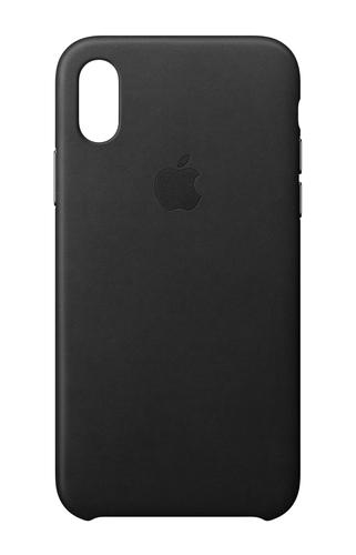 Apple MQTD2ZM/A 5.8Zoll Hauthülle Schwarz Handy-Schutzhülle (Schwarz)