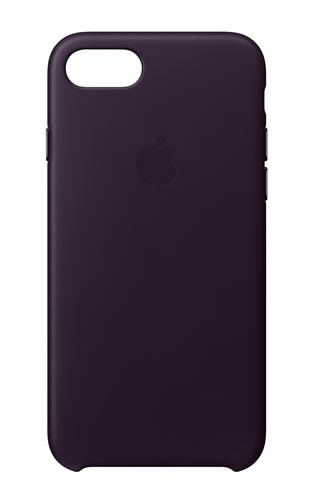Apple MQHD2ZM/A 4.7Zoll Hauthülle Aubergine Handy-Schutzhülle (Aubergine)