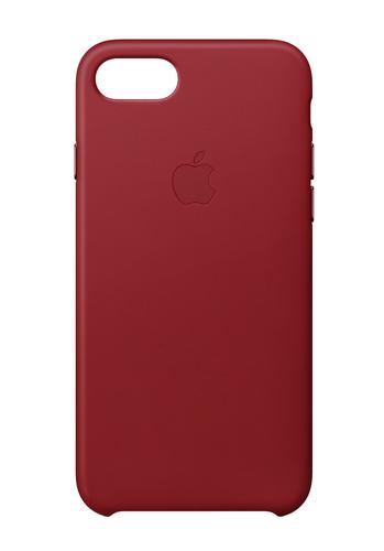 Apple MQHA2ZM/A 4.7Zoll Hauthülle Rot Handy-Schutzhülle (Rot)