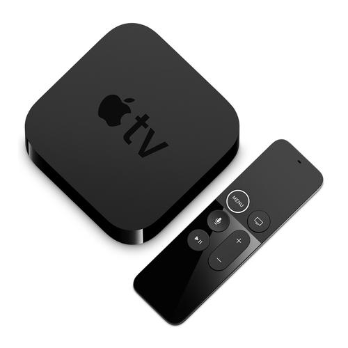 Apple TV Smart- -Box (Schwarz)