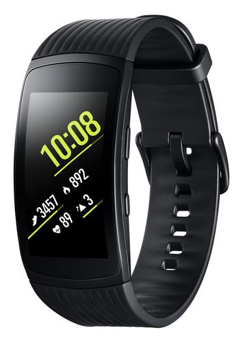 Samsung SM-R365 1.5Zoll SAMOLED 34g Schwarz Smartwatch (Schwarz, Schwarz)