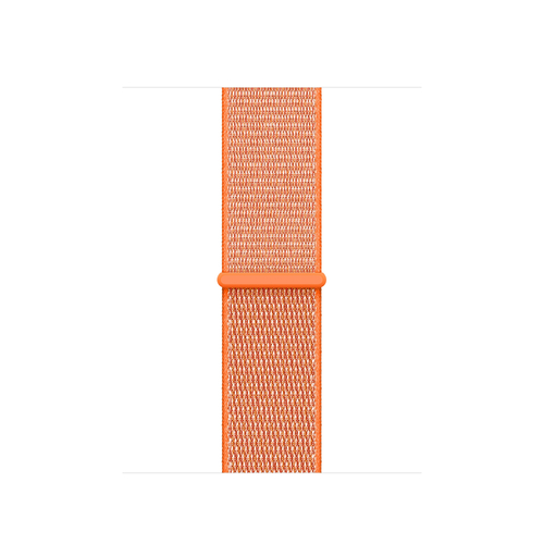 Apple MQW12ZM/A Band Orange Nylon Smartwatch-Zubehör (Orange)