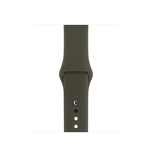 Apple MQUL2ZM/A Band Olive Fluor-Elastomer Smartwatch-Zubehör (Olive)
