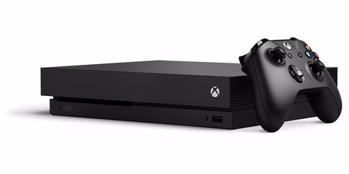 Microsoft Xbox One X 1TB 1000GB WLAN Schwarz (Schwarz)