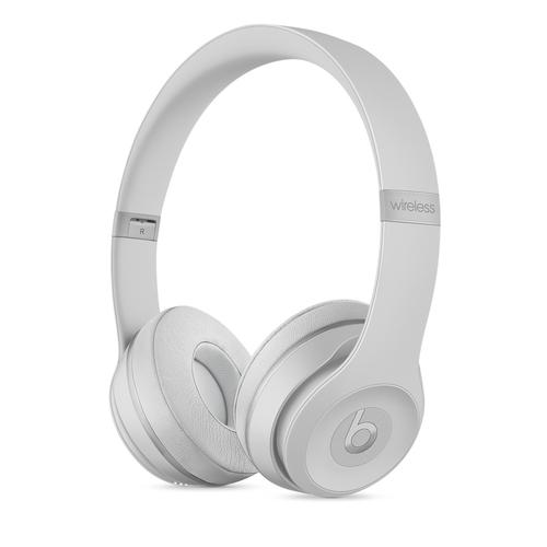 Beats by Dr. Dre Beats Solo3 Kopfband Binaural Verkabelt/Kabellos Silber Mobiles Headset (Silber)