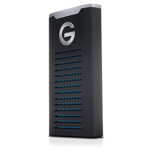G-Technology G-DRIVE mobile 2000GB Schwarz, Silber (Schwarz, Silber)