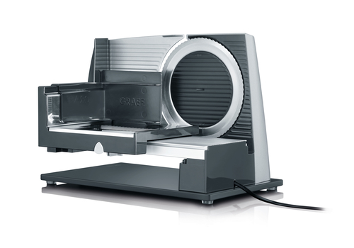 Graef S 32000 Elektro 170W Aluminium Edelstahl Schneidemaschine (Edelstahl)