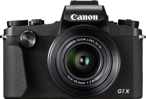 Canon PowerShot G1 X Mark III SLR-Kamera-Set 24.2MP 6000 x 4000Pixel Schwarz (Schwarz)