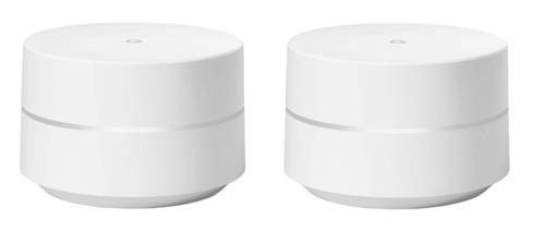 Google WiFi Dual-Band (2,4 GHz/5 GHz) Gigabit Ethernet Weiß WLAN-Router (Weiß)