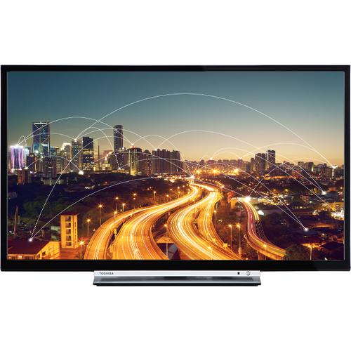 Toshiba 24D3763DA 24Zoll HD Smart-TV WLAN Schwarz LED-Fernseher (Schwarz)