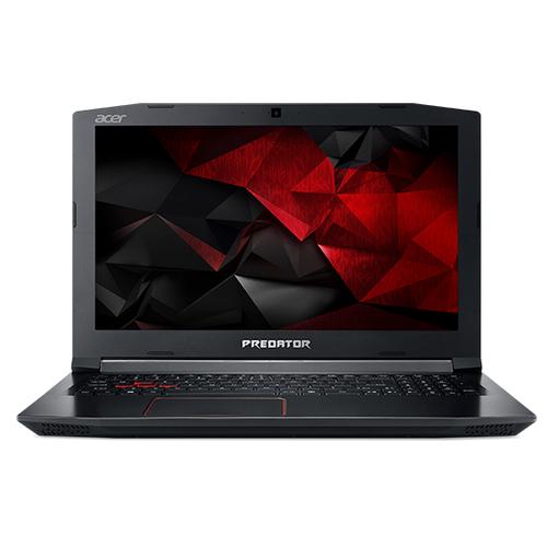 Acer Predator G3-572-7378 2.8GHz i7-7700HQ 15.6Zoll 1920 x 1080Pixel Schwarz, Rot Notebook (Schwarz, Rot)