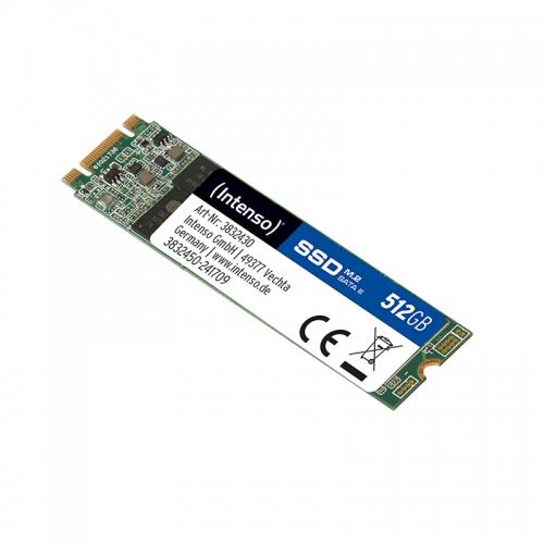 Intenso Top 512GB M.2 Serial ATA III (Grün)