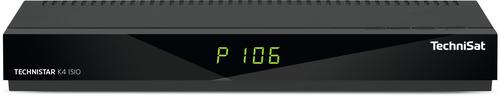 TechniSat K4 ISIO Kabel, Ethernet (RJ-45), IPTV Full-HD Schwarz TV Set-Top-Box (Schwarz)