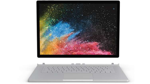 Microsoft Surface Book 2 1.9GHz i7-8650U 13.5Zoll 3000 x 2000Pixel Touchscreen Silber Hybrid (2-in-1) (Silber)