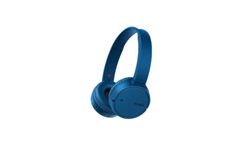 Sony WHCH500L Binaural Kopfband Blau Headset (Blau)