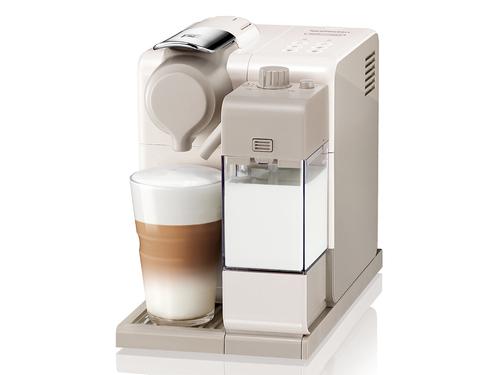 DeLonghi Jovia Lattissima Touch Freistehend Pad-Kaffeemaschine 0.9l Beige, Weiß (Beige, Weiß)