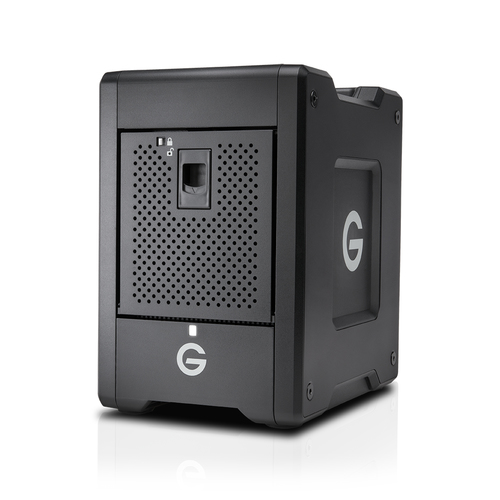 G-Technology G-Speed Shuttle 48000GB Desktop Schwarz Disk-Array (Schwarz)