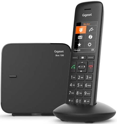 Gigaset C570 DECT-Telefon Anrufer-Identifikation Schwarz (Schwarz)