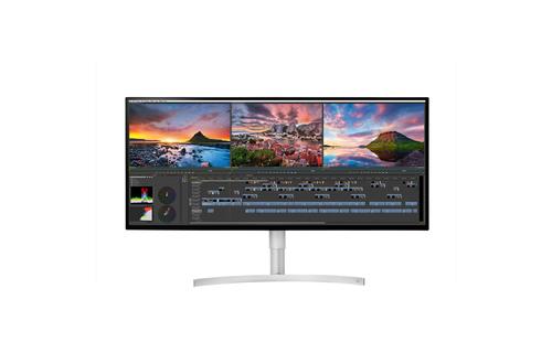 LG 34WK95U-W 34Zoll 5K Ultra HD LED Schwarz Computerbildschirm (Schwarz)
