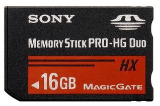 Sony MSHX16A Flash Speicher (Schwarz)