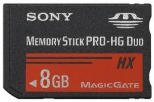 Sony MSHX8A Flash Speicher (Schwarz)