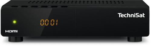 TechniSat HD-S 222 Satellit Full-HD Schwarz TV Set-Top-Box (Schwarz)