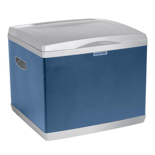 MOBICOOL A40 38l Gas/Elektrizität Blau, Weiß Kühlbox (Blau, Weiß)