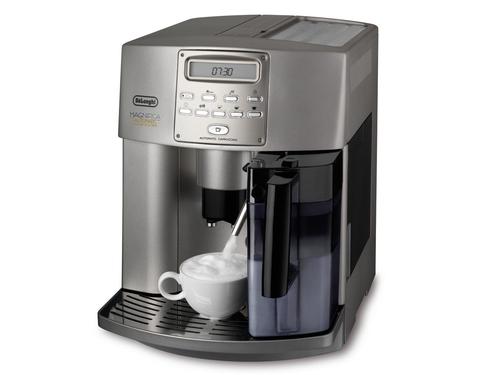 DeLonghi ESAM 3500 Freistehend Vollautomatisch Espressomaschine 1.8l Silber (Silber)