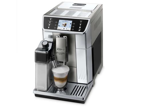 DeLonghi Piccolo ECAM 656.55.MS Kaffeemaschine (Schwarz, Metallisch)