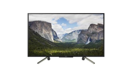 Sony KDL-43WF665 43Zoll Full HD Smart-TV WLAN Schwarz, Silber LED-Fernseher (Schwarz, Silber)