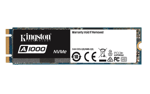 Kingston Technology A1000 240GB M.2 PCI Express (Schwarz, Blau, Weiß)