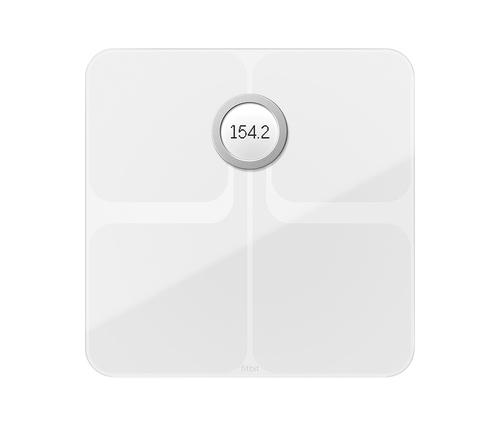 Fitbit Aria 2 Elektronische Personenwaage Quadratisch Weiß (Weiß)