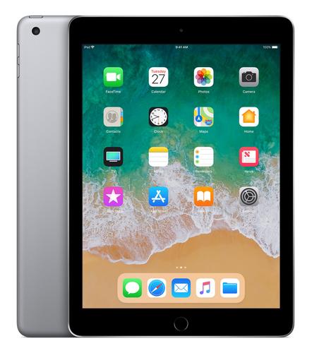 Apple iPad 128GB Grau Apple A10 Tablet (Grau)